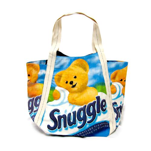 【SELECT】キャンバスECOラージトートバッグ「Snuggle・スナッグル」
