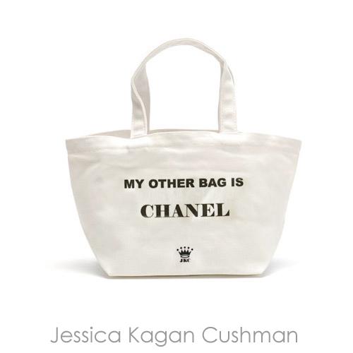 送料無料【LA Import】Jessica Kagan Cushman<JKC>ミニトート(WHITE)