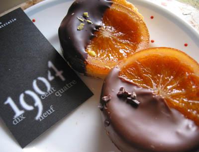 1904さんのオレンジのお菓子