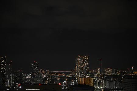 築地側夜景