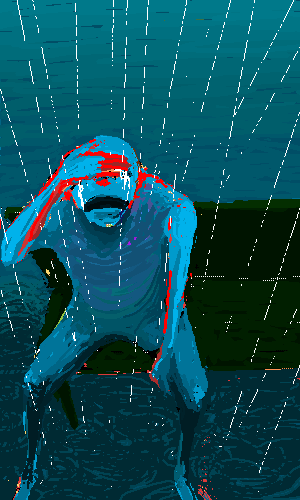 ベストセレクション かっこいい 雨 イラスト 綺麗