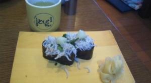 釜揚げしらす寿司