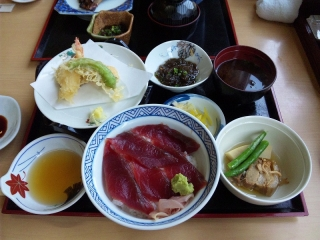 寿司実 南鮪鉄火丼定食