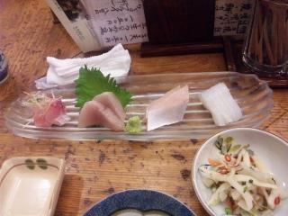 錦 刺身定食