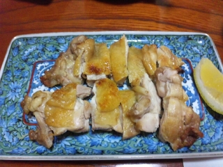 高原庵 地養鶏もも焼き(塩)
