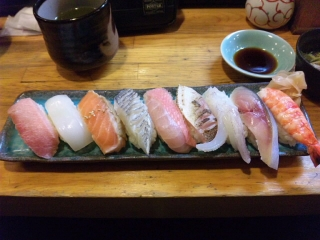 山正 寿司ランチ