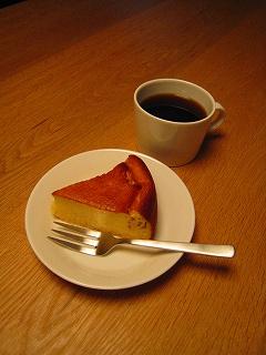 珈琲とチーズケーキ