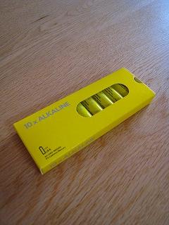 イケアの電池