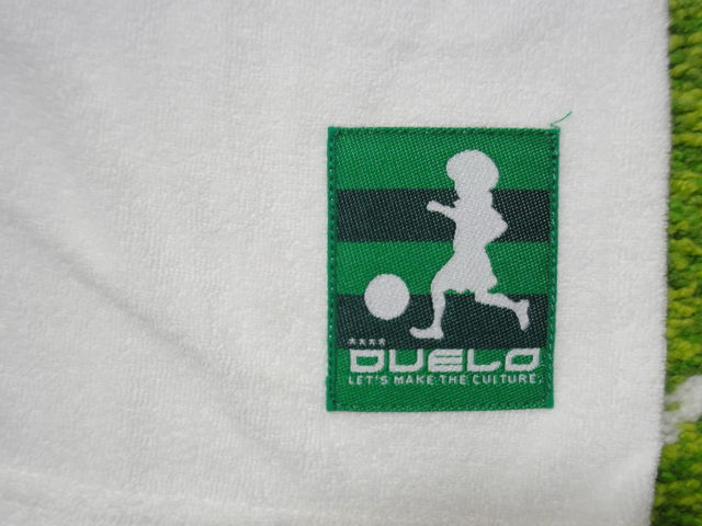 DUELO SS 切替 パイル T-SHIRTS No,383 ロゴ 白.jpg