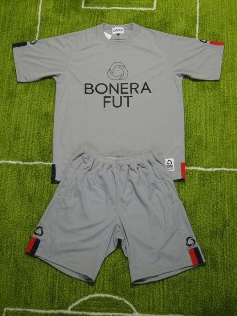 BONERA ゲームシャツパンツ BNR-PS005T 灰 上下セット.jpg