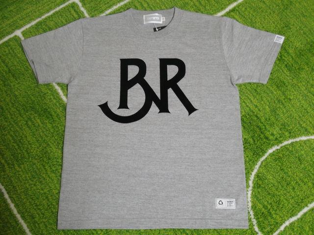 BONERA Tシャツ BNR-T036 灰 フロント.jpg