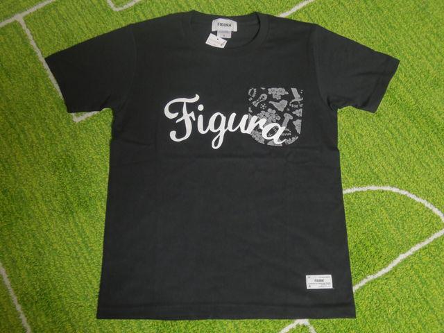 FIGURA Tシャツ FIG-T008 黒 フロント.jpg
