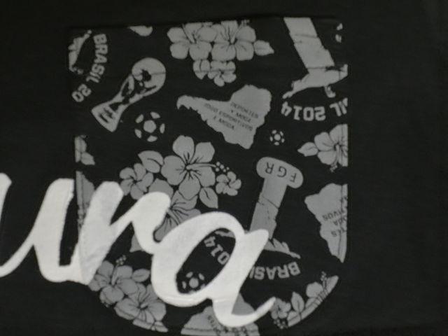 FIGURA Tシャツ FIG-T008 黒 フロント拡大 2.jpg