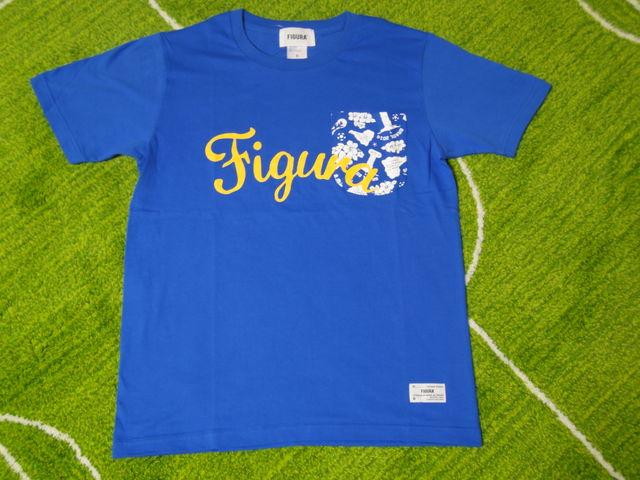 FIGURA Tシャツ FIG-T008 青 フロント.jpg
