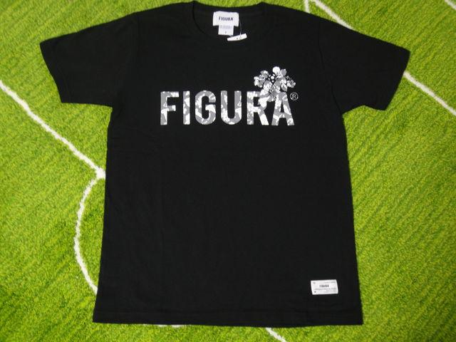 FIGURA Tシャツ FIG-T010 黒 フロント.jpg