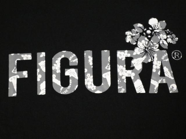 FIGURA Tシャツ FIG-T010 黒 フロント拡大 2.jpg