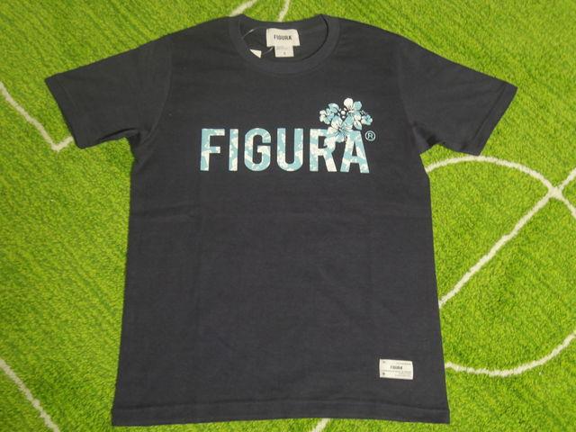 FIGURA Tシャツ FIG-T010 紺 フロント.jpg