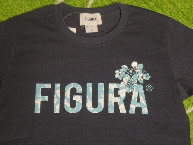 FIGURA Tシャツ FIG-T010 紺 フロント拡大.jpg