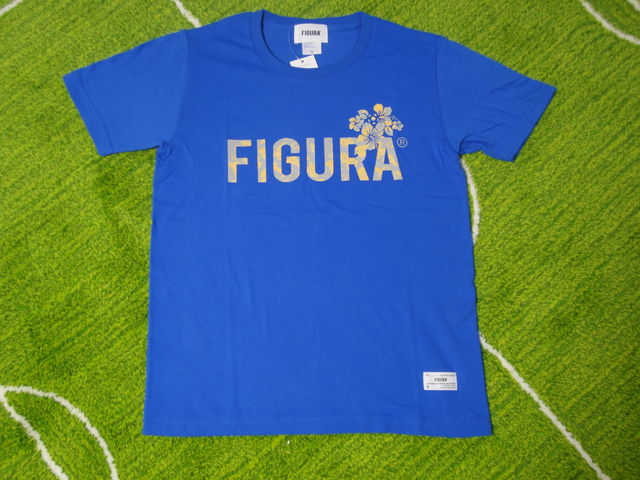FIGURA Tシャツ FIG-T010 青 フロント.jpg