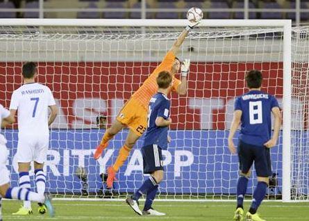アジアカップ2019ウズベキスタン戦-7.JPG