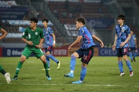SAMURAI BLUE U-23アジア選手権 サウジアラビア戦-2.jpg