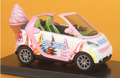 Smart Cabrio Ice Cream
