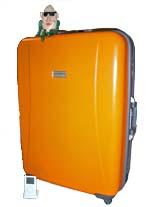 77×58×28cmのどでかスーツケース