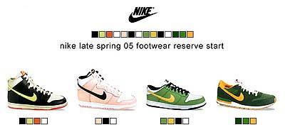 nike 4月発売分予約開始【late spring'05】 ナイキ 4月発売分予約開始【LATE SPRING'05】
