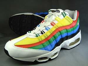 nike air max 95 rainbow/olympics ナイキ エアマックス95 オリンピックカラー/レインボー