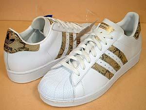 adidas superstar white/sneak アディダス スーパースター 白蛇