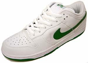 nike dunk low pro sb white/classic green ナイキ ダンク ロー プロ SB 白/クラシックグリーン