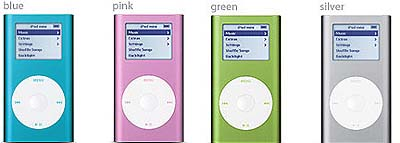 物欲アイテム:iPod mini & photo (NEW Model)