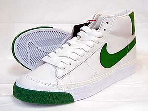 nike blazer mid white/classic green ナイキ ブレザー ミッド クラシックグリーン