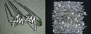 stussy vs supreme 2004 summer tee ステューシーVSシュプリーム サマーTシャツ