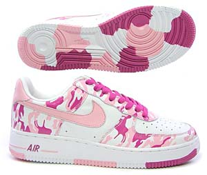 nike airforce1 low [pink camouflage] (white/real pink-bright rose) ナイキ エアフォース1 ロー 「ピンクカモフラージュ」