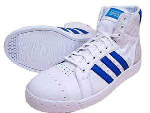 adidas tennis hi (white/blue) アディダス テニス ハイ (白/青)