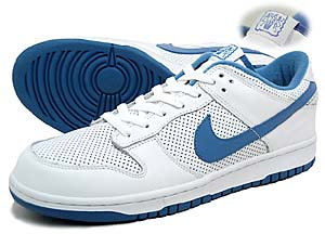 nike dunk low (white/varsity blue) ナイキ ダンク ロー (白/青)