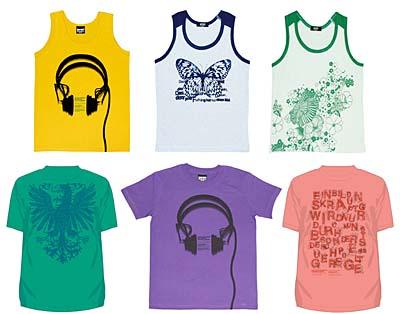 graphic new design tank top&t-shirts グラニフ 新作タンクトップ&Tシャツ