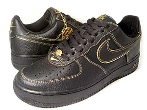 nike air force 1 low [jd sports exclusive](306353-009) ナイキ エアフォース1 ロー 「JDスポーツ別注」(黒/金)