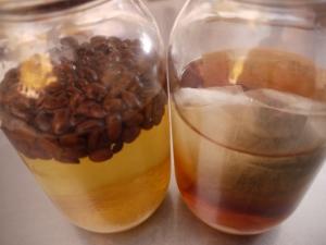 コーヒー酒&紅茶酒仕込みました の巻