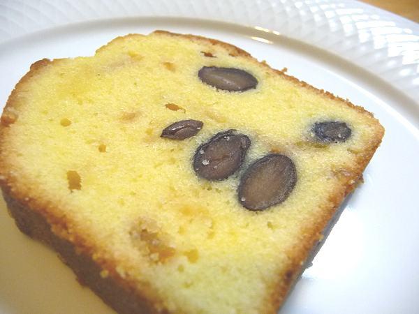 バターケーキゆず黒豆