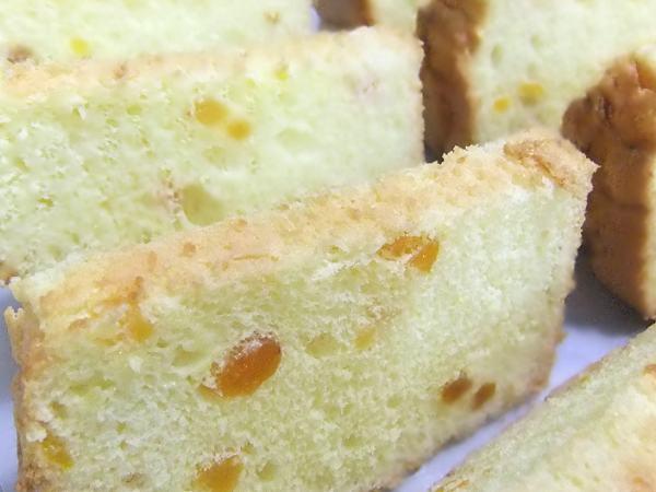 ココナッツ&杏のシフォン