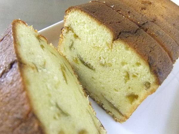 梅のバターケーキ