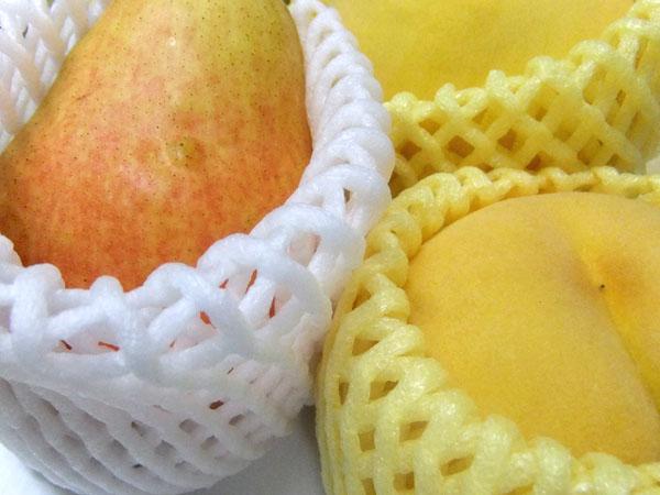 洋ナシと黄桃