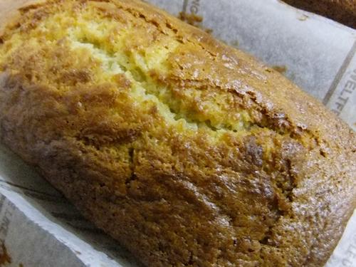 ネーブルオレンジのバターケーキ
