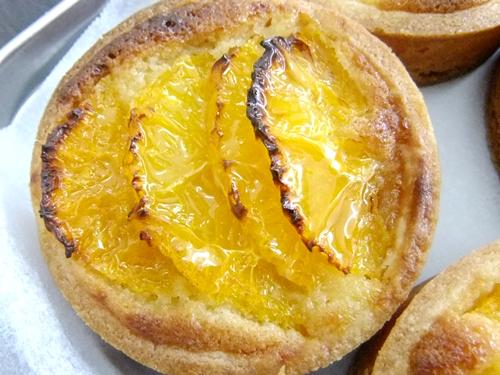 ネーブルオレンジのタルト