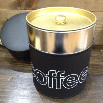 人気のコーヒー保存缶