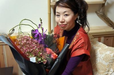 「ハローウィン★お花の贈り物」岸本桂生子