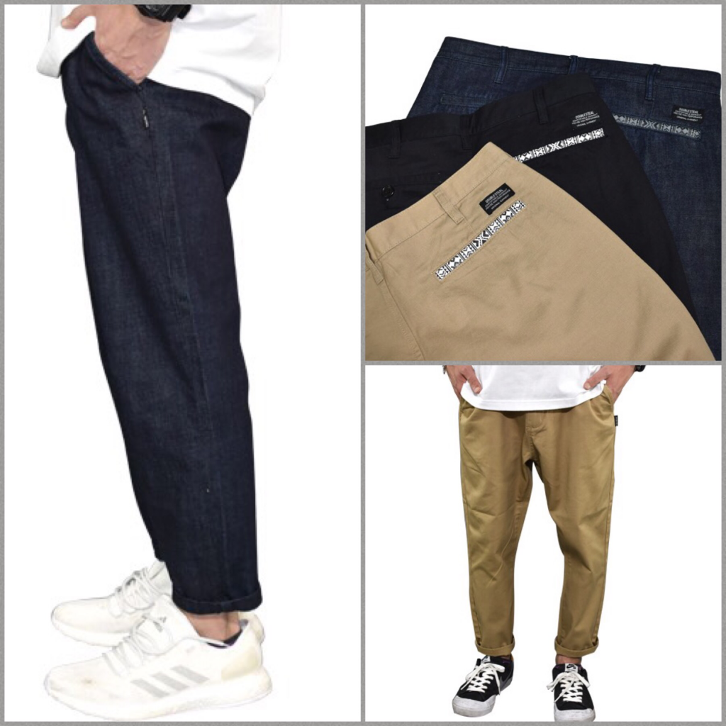 Native Pocket Ankle Pants