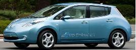日産電気自動車リーフ